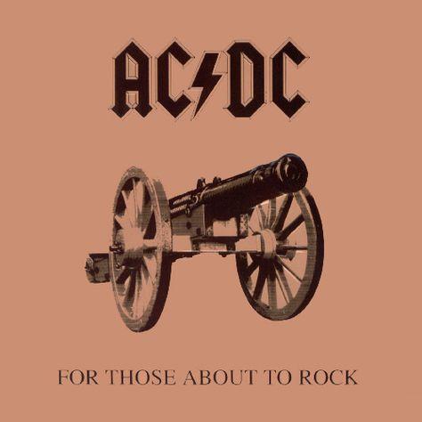 Chronique d'album metal AC/DC For Those About To Rock (Hard Rock) - Album Review