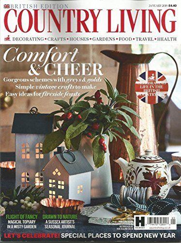 Country Living Magazine January 2018 British Edition Country Living Uk Country Living In Season Produce