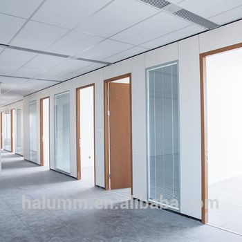 Best Price Transparent Frosted Glass Full High Office Wall Partition Glass Office Partitions Partition Wall Demountable Partitions