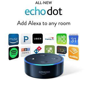 Amazon Echo Dot 2nd Generation For 34 99 Echo Dot Alexa Echo Echo