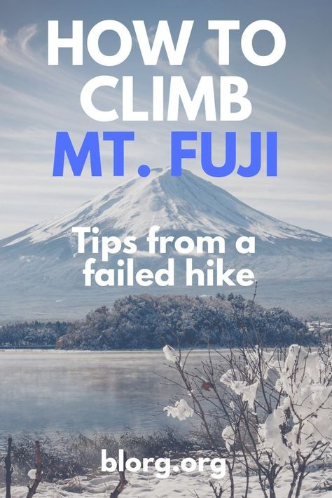 Tips on how to climb Mt Fuji from a failed attempt. I made it to the 9th station but missed the sunrise and gave up cause I was tired. Lots of things to factor in when hiking Mt Fuji as an amateur so I compiled my failures into tips for hikers #mtfuji #mountfuji #japan #thingstodo
