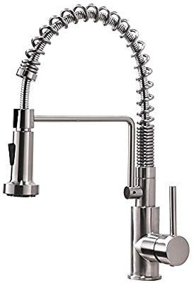 Amazon Com Friho Lead Free Commercial Brushed Nickel Stainless