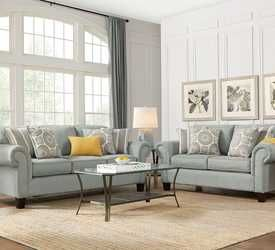 Marquis Heights Pewter 5 Pc Living Room Living Room Sets Furniture Living Room Sets Furniture
