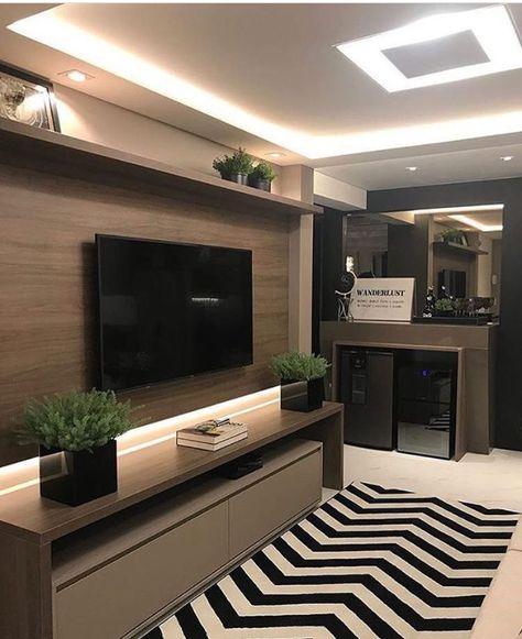Ugrade Your Home Or Business With Led Strip Lighting Contemporaryled Com Tv Decor Living Room Tv Home