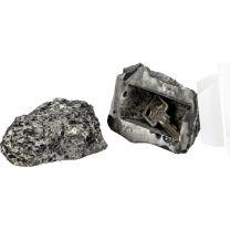 Dieser verblüffend echt aussehende Stein mit Geheimfach ist das perfekte Versteck für einen Reserveschlüssel. Sie ersparen sich den Schlüsseldienst!