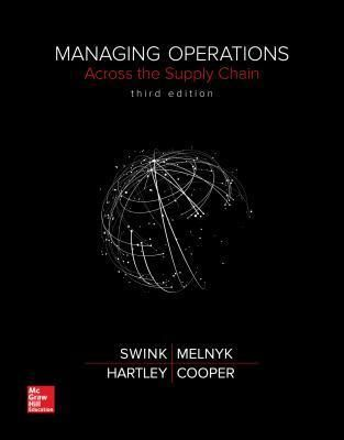 Download Managing Operations Across The Supply Chain Ebooks