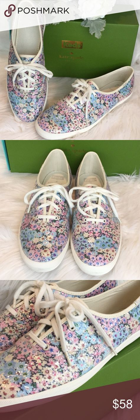 37bcbaaffde2 🆕Kate Spade Keds Daisy Garden Sneakers NWT Cute floral sneakers by Kate  Spade for Keds