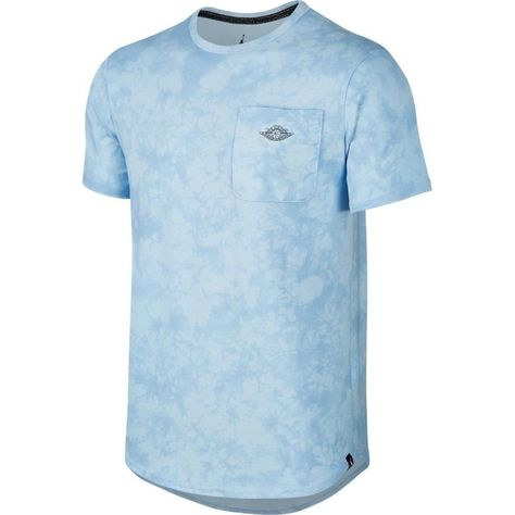 c744962ca396f2 Nike Men s Air Jordan 23 True Fadeaway T-Shirt 843098 458 Blue NEW Size  Large  Nike  ShirtsTops