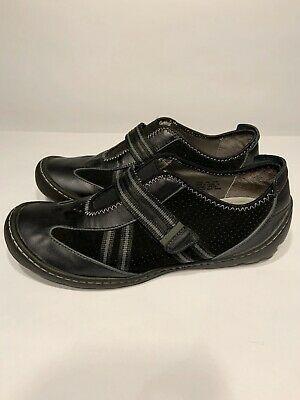 Privo Women's Black Nubuck Maddy Shoes Size 9 M 76250