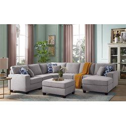 Mequon Right Hand Facing Modular Sectional With Ottoman Modular