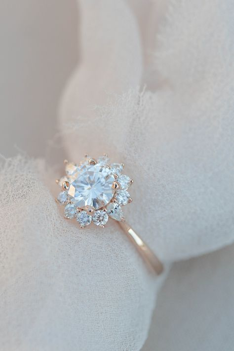 100 The Most Beautiful Engagement Rings You Ll Want To Own In 2020 White Gold Engagement Rings Wedding Jewelry Diamond Wedding Bands