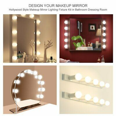 Advertisement Hollywood Style Led Vanity Mirror Lights Kit With