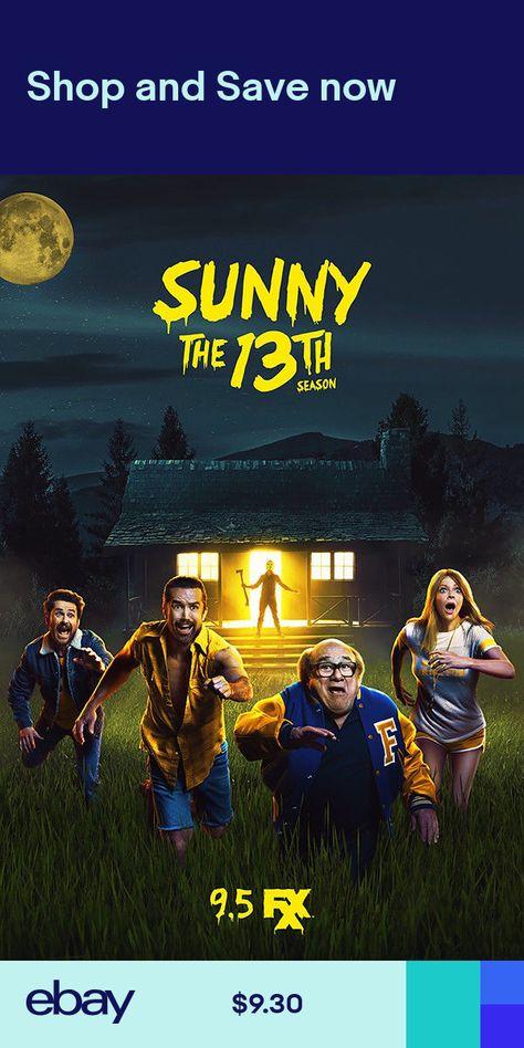 "It/'s Always Sunny in Philadelphia Poster 36x24/"" 21x14/"" 2018 Season 13 Print Silk"