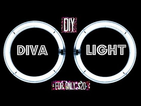 DIY Diva Ring Light | WINSLEY MELAN - YouTube