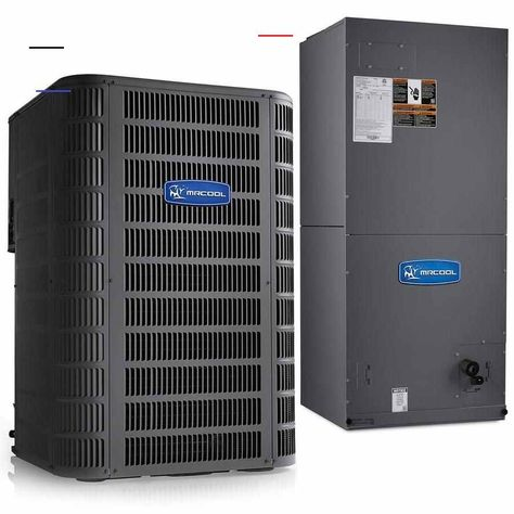 Mrcool Signature Complete Split System Air Conditioner Residential 5 Ton 14 Seer Central Air Conditioner Lowes Com Energyefficiency In 2020