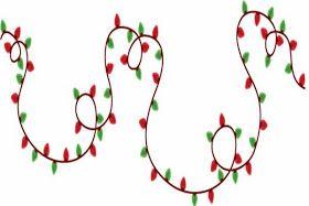 Xmas Lights Clip Arts And Borders Christmas Lights Clipart Christmas Graphics Free Christmas Clipart