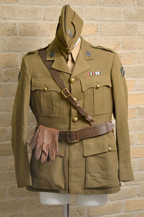 British World War 2 uniform- Major H. Fletcher of the Royal Electrical and Mechanical Corps of the 39th Infantry Division (India).  I have the entire uniform.  Just no where to hang the trousers.