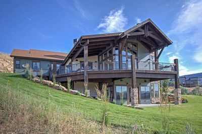 Plan 95042rw Luxury Hillside Retreat With Optional Finished Lower Level Ranch House Plans Mountain House Plans House Plans