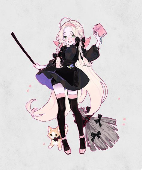 Cute Witch Character Art Concept Art Characters Cute Art