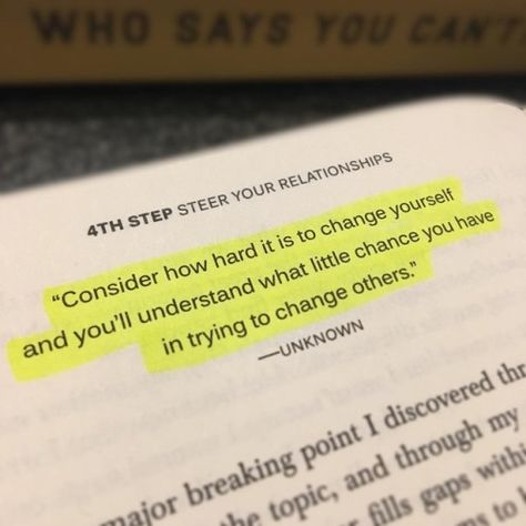 Taken from the book @whosaysyoucantyoudo. If you dont own this...