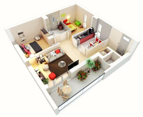 Image Associée Plan Maison Maison Deux Chambres Plan