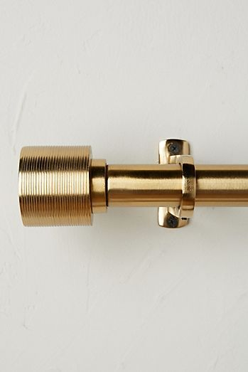 Celine Curtain Rod Set Gold Curtain Rods Brass Curtain Rods