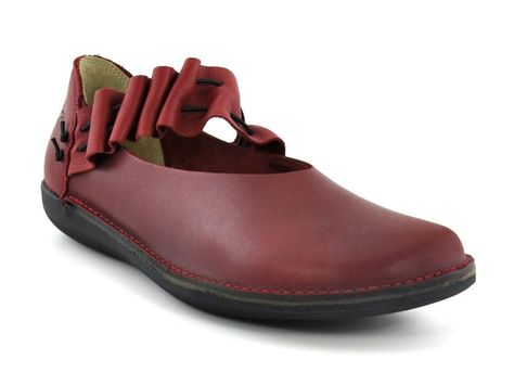 Loints of Holland Spangenschuh 68478 red in Kleidung
