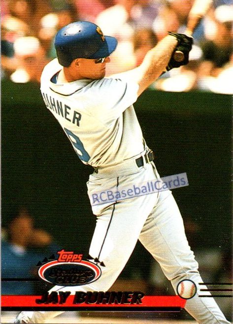 1993 Jay Buhner, Mariners, 1 Stadium Club