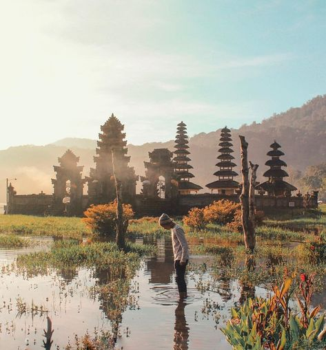 Twin Lake Tamblingan Buyan Foto Wisata