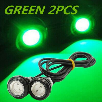 2 Marine Grade 120 Volt Waterproof Low Profile Green Led Indicator Boat Lights Ebay Green Led Boat Lights Led Indicator