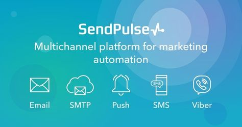 Automate your marketing and combine all delivery channels on one platform: email, web push notifications, SMS, Viber. © 2019