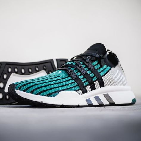 uk availability c7a9c b96ee adidas EQT Support Mid ADV Sub Green in 2018  Stylish Kicks