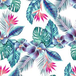 Magic Hawaii #newonpatternbank #patterndesign #shockrider