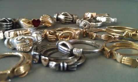 rings - vintage  Gimmel Rings