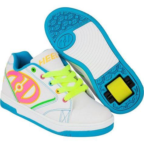 Heelys Youth Dual Up X2 Puzzle Piece Skateboarding Wheel Shoes Purple Multi