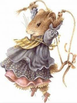 Art of Marjolein Bastin Vera Mouse