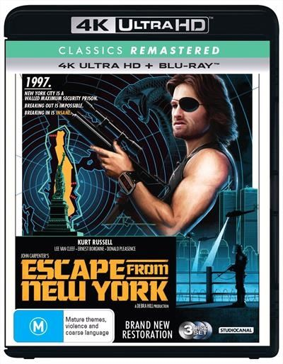 Escape From New York With Images Blu Ray Donald Pleasence Lee Van Cleef