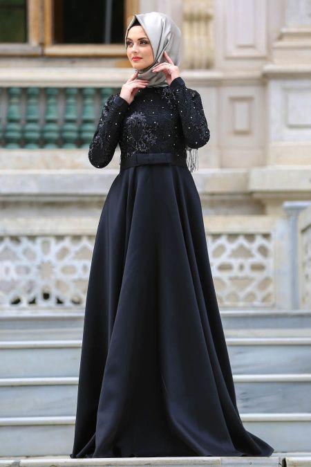 Neva Style Tesettur Pul Payetli Abiye Elbise Modelleri Elbise Modelleri Elbise The Dress