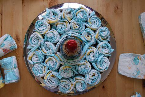 How-To Diaper Cake