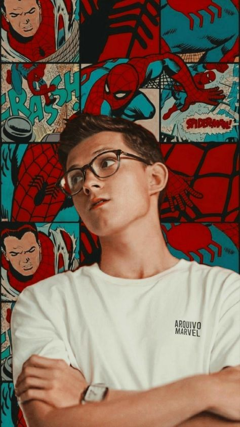 Tom Holland #peterparker #tomholland #spiderman #peterparker #avengers #mcu