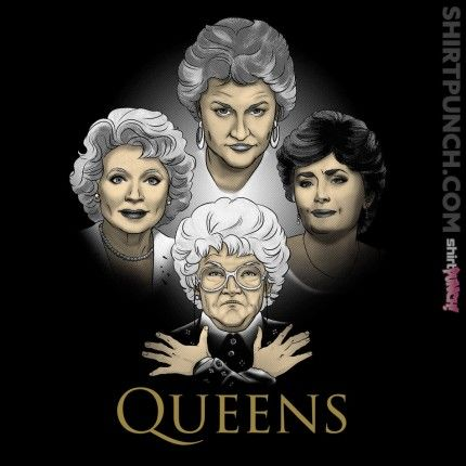 Golden Queens Svg Files For Silhouette Files For Cricut Svg Dxf Eps Png Golden Girls Theme Golden Girls Golden Girls Quotes