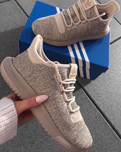 Adidas Tubular Shadow Light Brown Clear Brown Con Imagenes