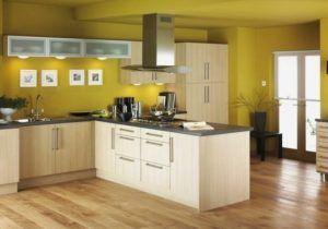 Couleur Mur Cuisine Avec Meuble Bois Awesome Impressive Inspiration Quelle Couleur De Peinture Pour Une Kitchen Decor Modern Yellow Kitchen Kitchen Wall Design