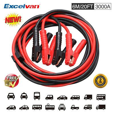 Ebay Advertisement 20ft 3000a Booster Jumping Cable Jumper Cables For Car Battery Zipped Carry Case In 2020 Jumping Cables Car Battery Automotive Tools