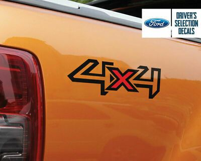 2 X Ford Ranger 4x4 Logo Sticker Decal Graphics Ebay Logo