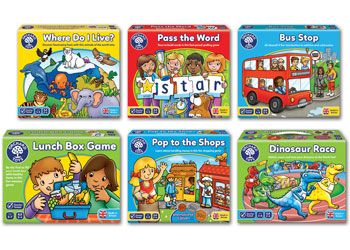 Educational Games Pack Set 6 Orchard Toys In 2020 Orchard Toys Educational Board Games Educational Games Is a fun animals of the world lotto, where players develop their knowledge and understanding of the world as they match different animals to their habitats. pinterest