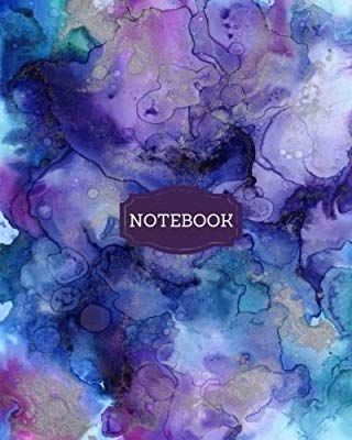 Notebook: Journal, Watercolour Notebook, College-Ruled