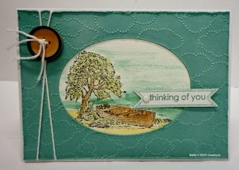 Stampin'up Moon Lake-watercolour cards-BaRb-BaRb'n'ShEllcreations