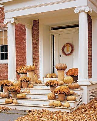 Gorgeous autumn decor