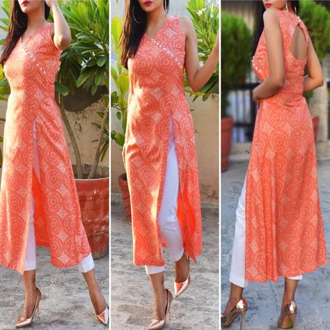 Shop Now❤️ Colorauction presents this beautiful Orange and White Printed Modal Rayon kurti which is accented with button detailing in the front and back comes with cotton silk white pants. Team it with block heels for an absolute stunning look.  To order this Kurti Set reach us out at www.colorauction.com  #kurtis#style#stylepost#igers#ootd#fashionistas#fashionpost#prints#floral#springsummer2019#shopnow#ecommerce#summerfashion#womenapparel#womenclothing#vogueindia#whatstrending#colorauction#colo